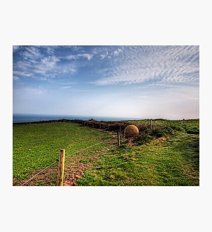 """An """"Alderney Stone"""" - Andy Goldsworthy Photographic Print"""