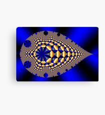 Trilobite Blue Canvas Print