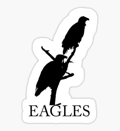 eagles silhouettes Sticker