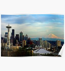 Sunset from Kerry Park Poster