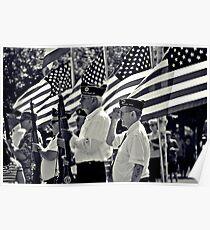 Veterans- The Sanctity of Sacrafice  Poster