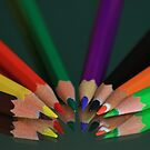 My Rainbow in Pencils by TonyGeary