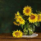 sunflowers by dagmar luhring