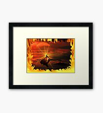 ~ Born In The Eternal Fire ~ Framed Print