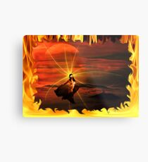 ~ Born In The Eternal Fire ~ Metal Print