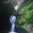 St. Nectan's Glen , Cornwall by Angie Latham