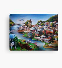 Little Falls Canvas Print