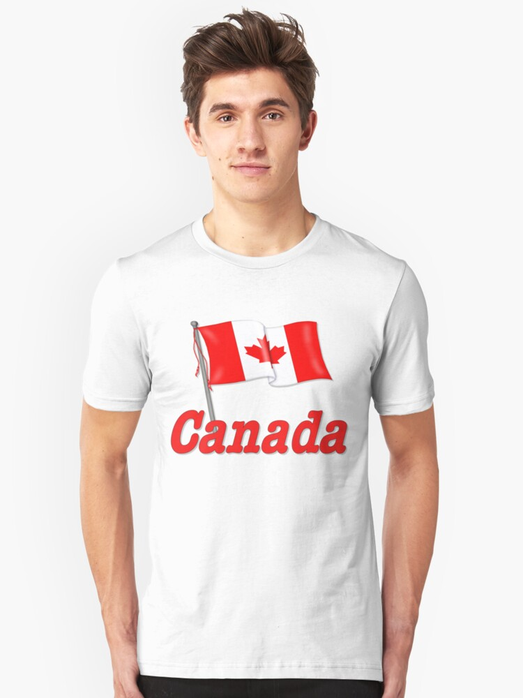 Canada Waving Flag by SpiceTree