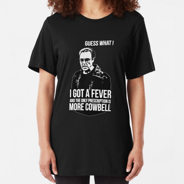 Womens More Cowbell Funny Saturday Night Tv Show T-Shirt ladies V-Neck top