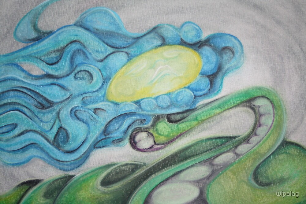 Flowing peace snake by wipalag