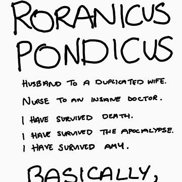Roranicus Pondicus by asilverstory