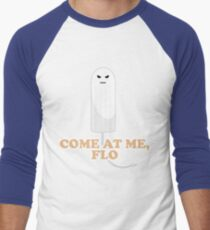 Come At Me Flo Graphic Tee Shirt Men's Baseball ¾ T-Shirt