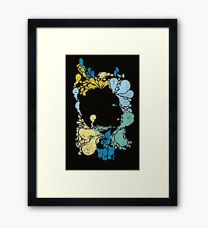 Hermann Rorschach 's little creatures  Framed Print