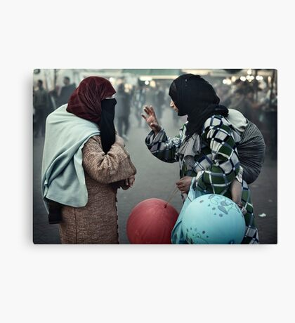 Mothers having a Ball Canvas Print
