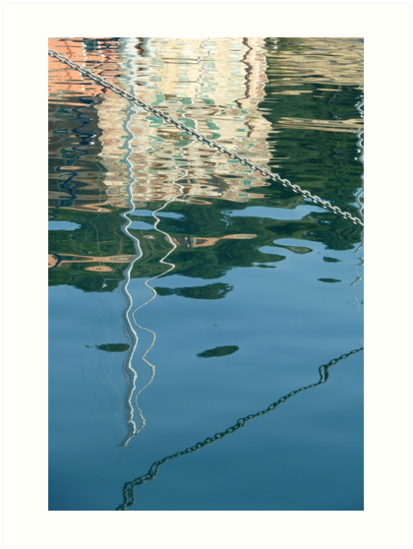 chain reflection  by dinghysailor1