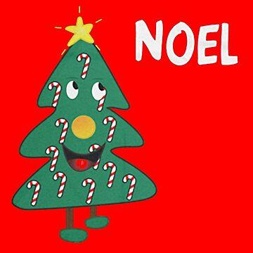 Mac Christmas Noel T-Shirt by MasterCasual