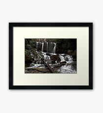 Virginia Hawkins Falls Framed Print