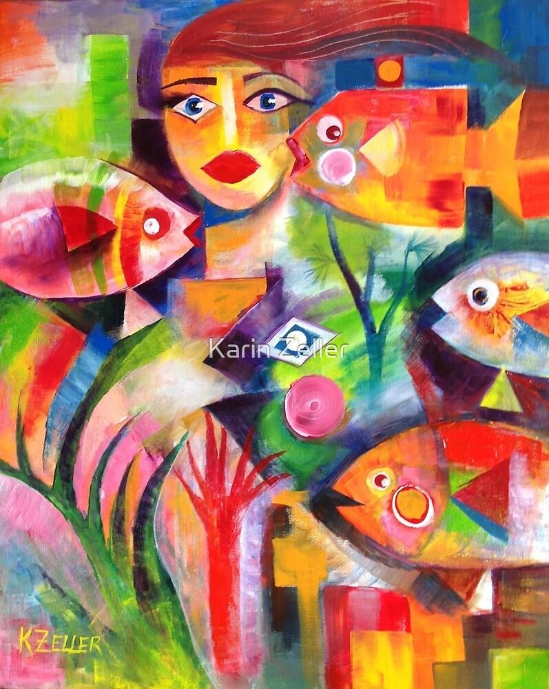 Mermaid by Karin Zeller