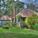 Warry's Cottage, Hill End, NSW, Australia (HDR) by Adrian Paul