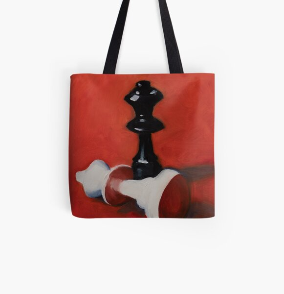Checkmate All Over Print Tote Bag