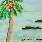 PALM TREE HAWAII by eoconnor
