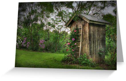 Fragrant Outhouse by Lori Deiter