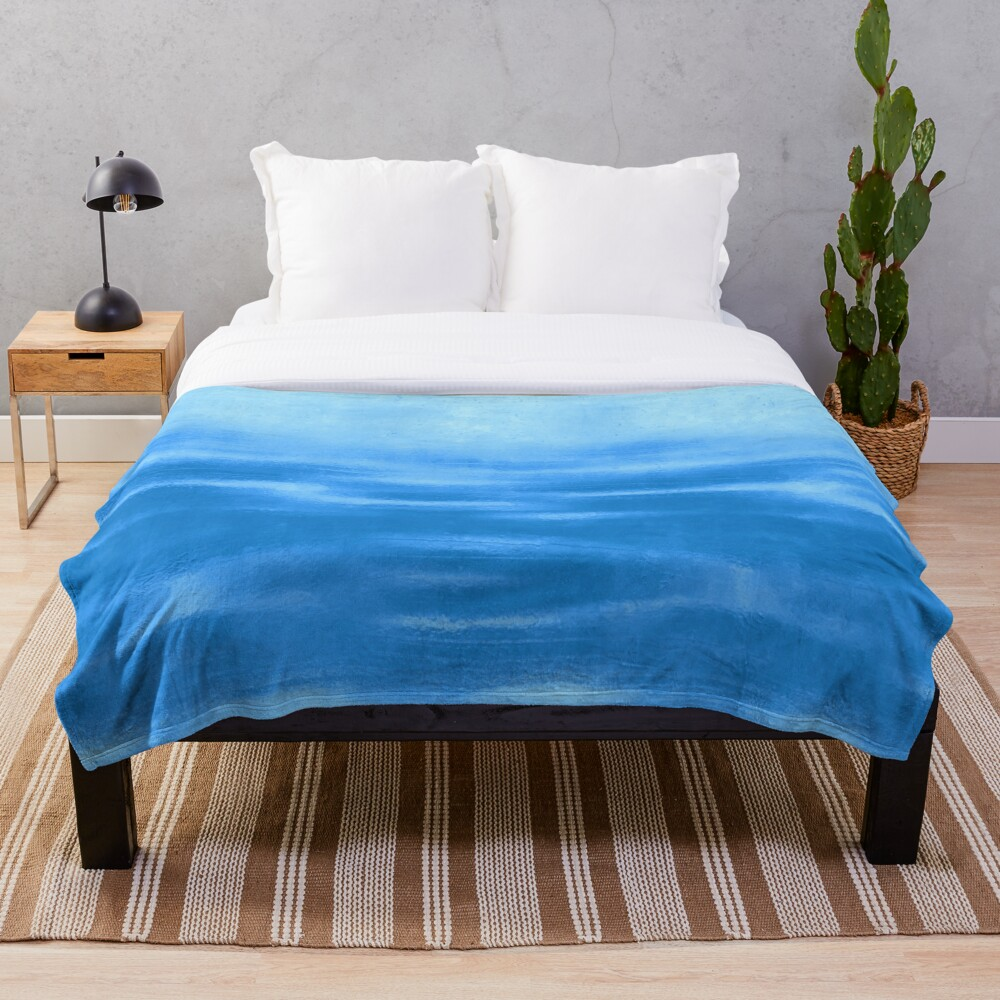 Tranquil Waters Throw Blanket