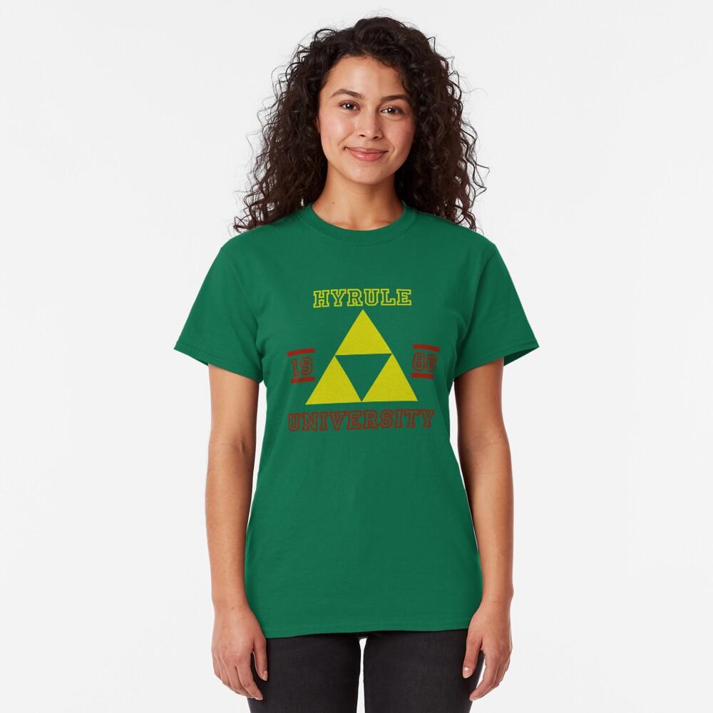 T-shirt classique «HYRULE UNIVERSITY»