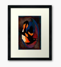 Dip to the Depths and to the Heights Framed Print