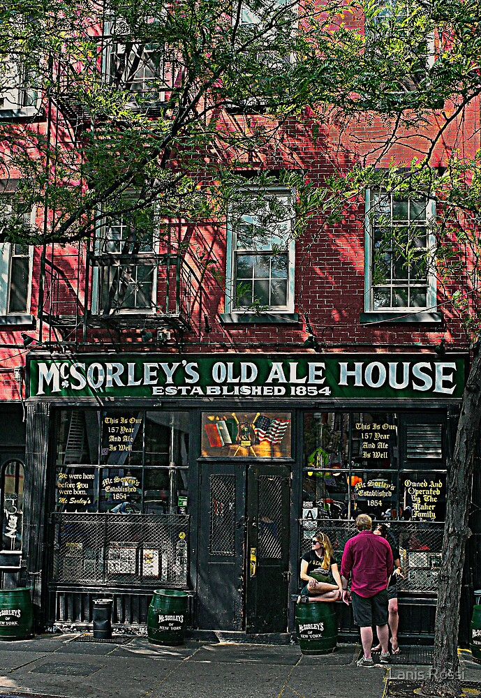McSorley's Old Ale House by Lanis Rossi