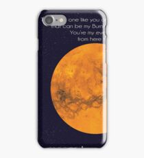 to mars iPhone Case/Skin