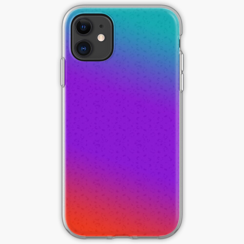 Colourful gradient iPhone Case & Cover