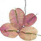 Stitched flowers 1 by Narani Henson