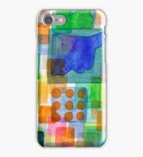 Playful Squares iPhone Case/Skin