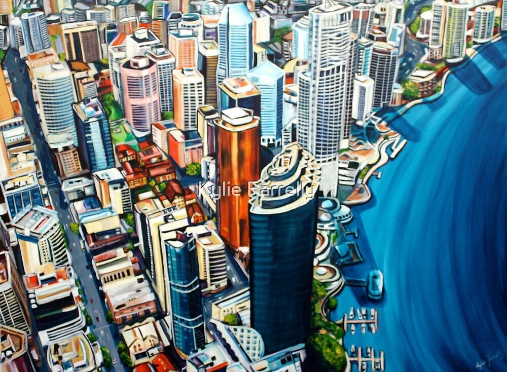 Above Brisbane by Kylie Farrelly