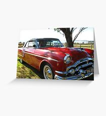 Packard #3 - 1954 Convertible Greeting Card