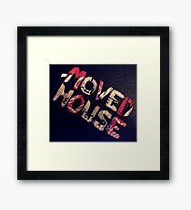 moved house Framed Print