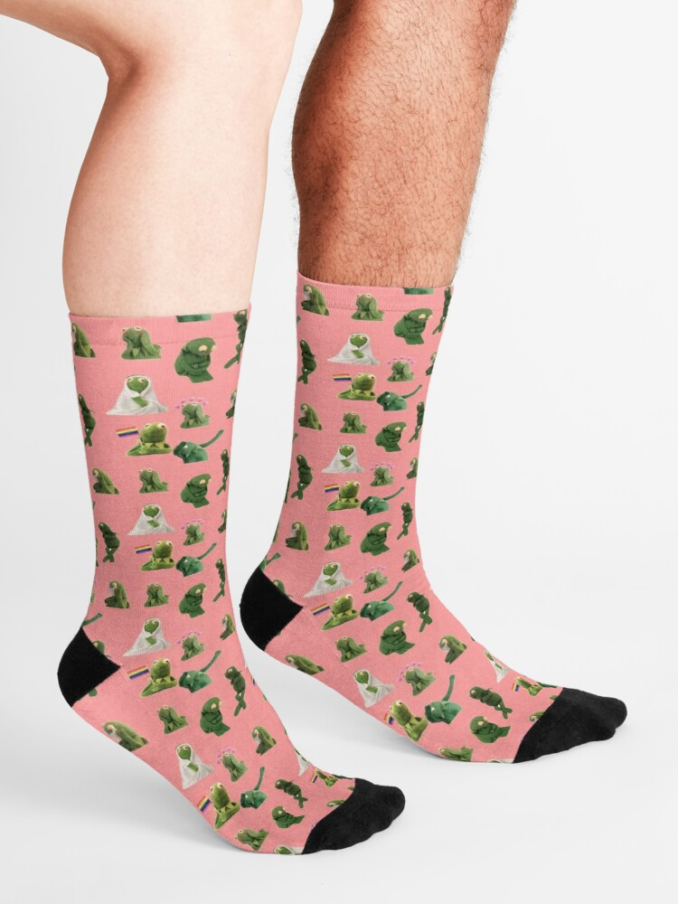 Alternate view of Kermit Sticker Pack Socks