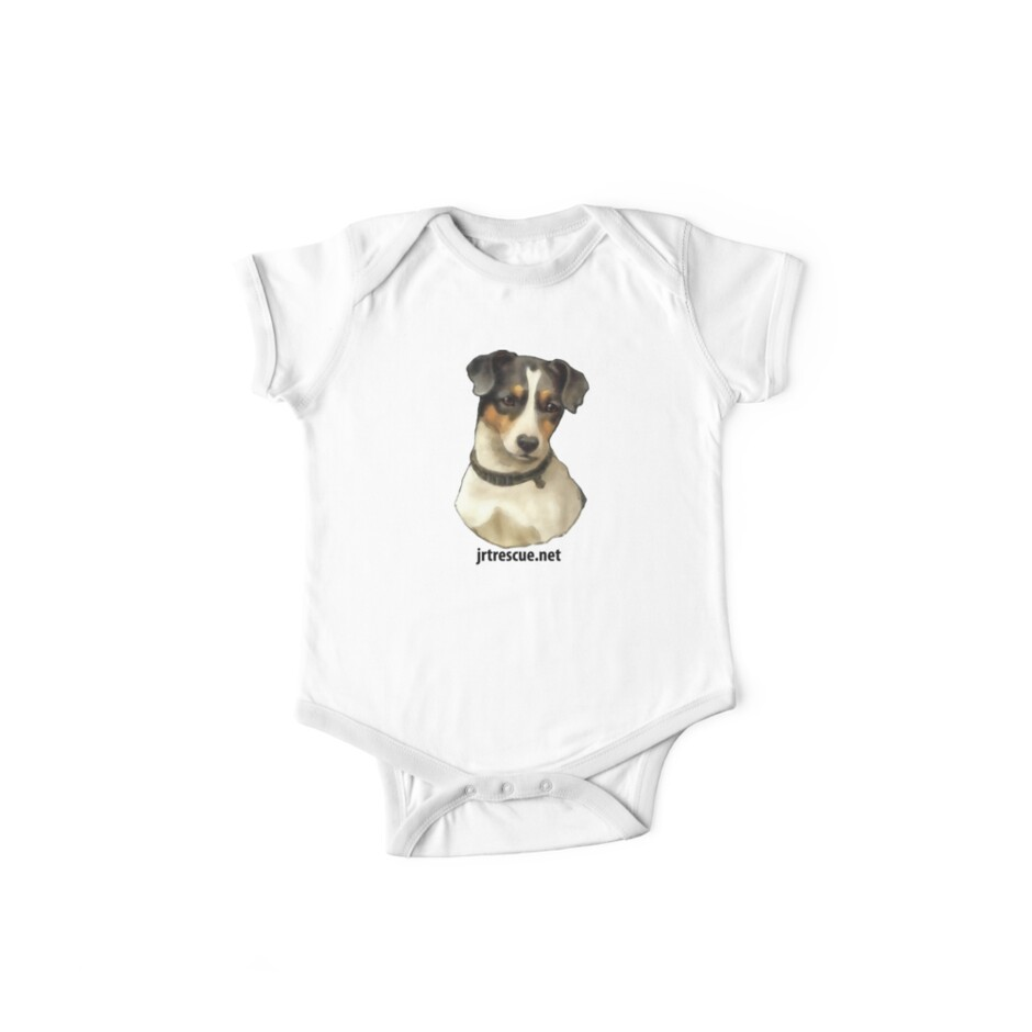 Jack Russell Rescue Tee Shirt Rufus by JRTrescue