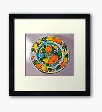 Orange and Lemon Serenade Framed Print