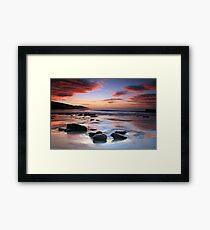 Crimson Tide- Great Ocean Road Framed Print