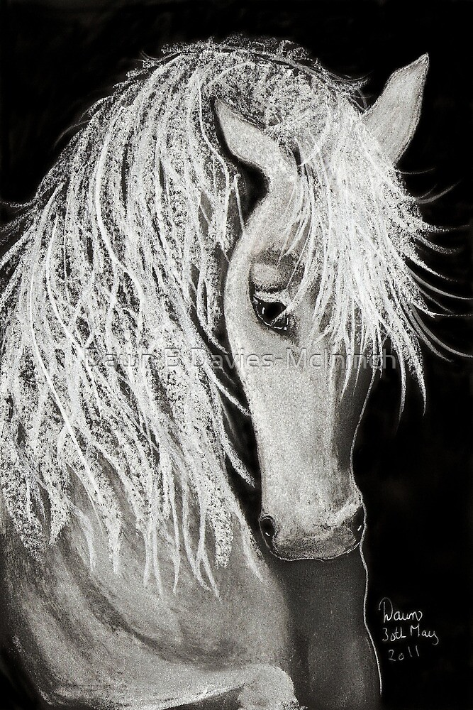 White Elegance by Dawn B Davies-McIninch