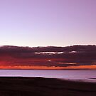 Lake Eyre sunset with photographer by Owen65
