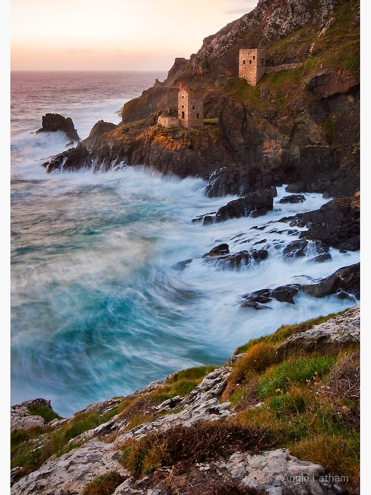 Cornwall: The Crowns Tin Mine by AngelaBarnett