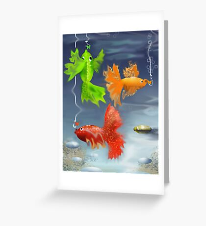 story for ... Greeting Card
