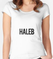 Haleb Women's Fitted Scoop T-Shirt