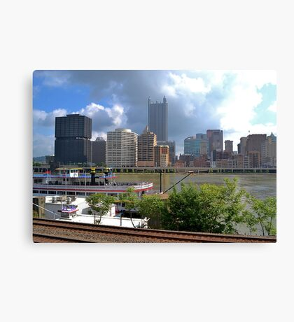 Pittsburgh from Station Square Canvas Print