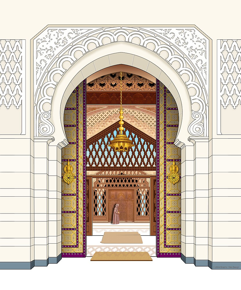 Moroccan Doors by marshbunny