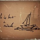 its not always smooth sailing.  by Fiona Christensen