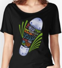 Tap Shoe Color - Dark Women's Relaxed Fit T-Shirt